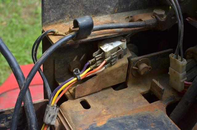 416-h Pto Safety Switch - Wheel Horse Electrical