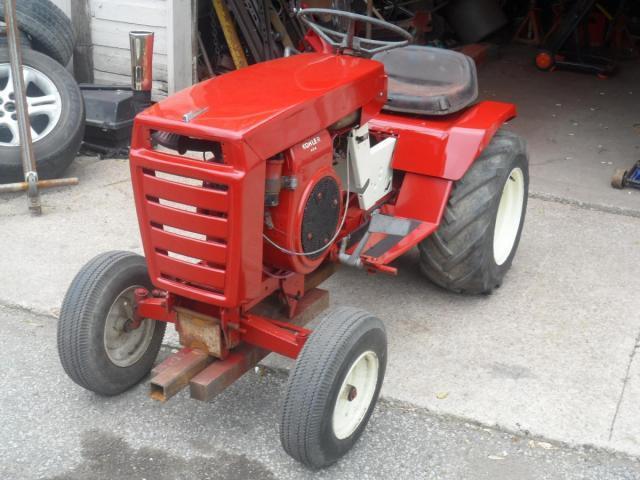 Wheel Horse Gt14 : Gt puller resto restorations modifications