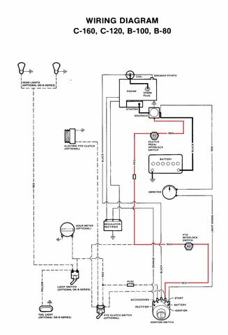 wheel tractor ignition wiring diagram wheel free engine image for user manual