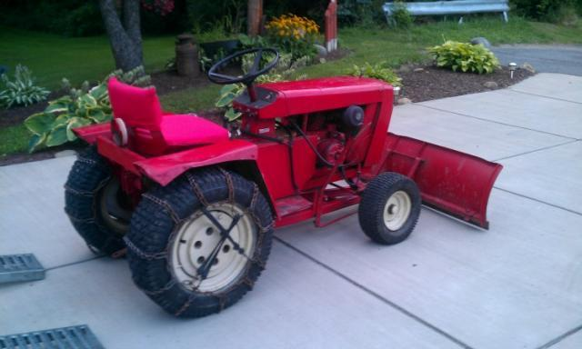 Wheel Horse Gt14 : Just picked up a wheel horse gt today