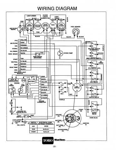 Toro 1996 520h Wiring Diagram