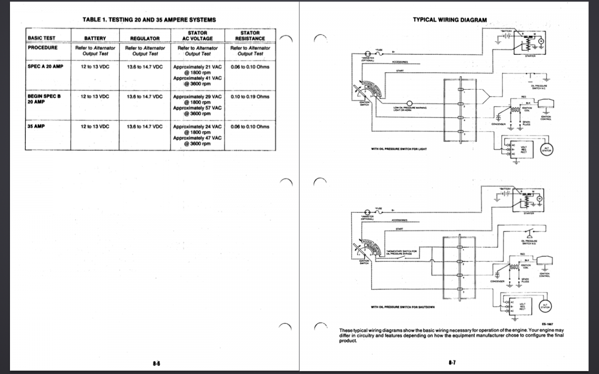 p218 onan engine wiring diagram onan oil sensor wire