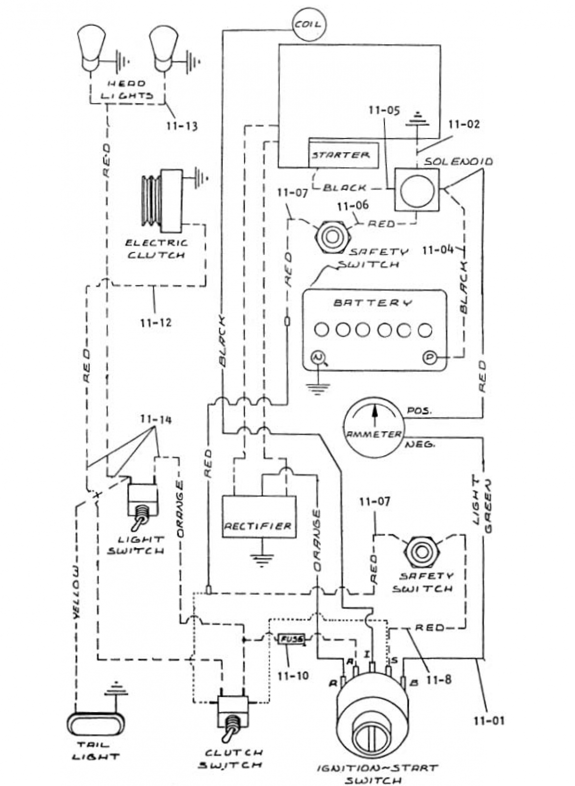 7 pin tractor wiring diagram