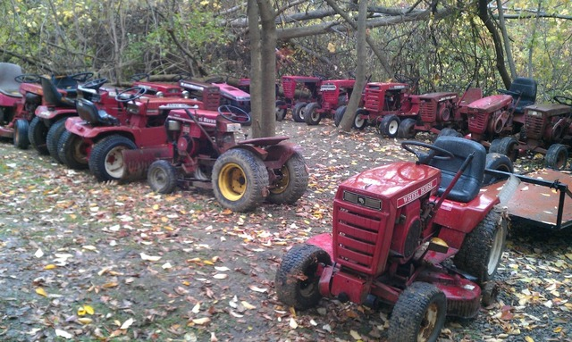 Just Bought A Wheel Horse Junkyard Wheel Horse Tractors Redsquare Wheel Horse Forum