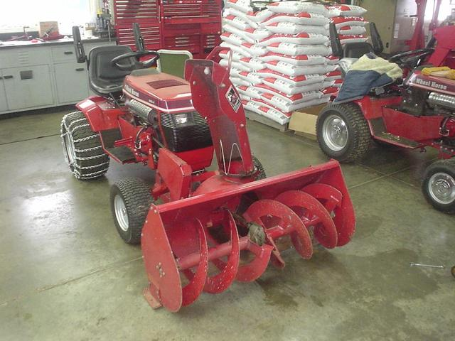 Wheel Horse Snow Blowers : Snowblower implements and attachments