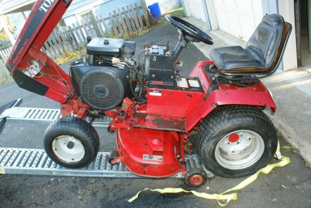 Picked up craigslist find 416h 586 hrs 48 deck - Craigslist garden tillers for sale ...