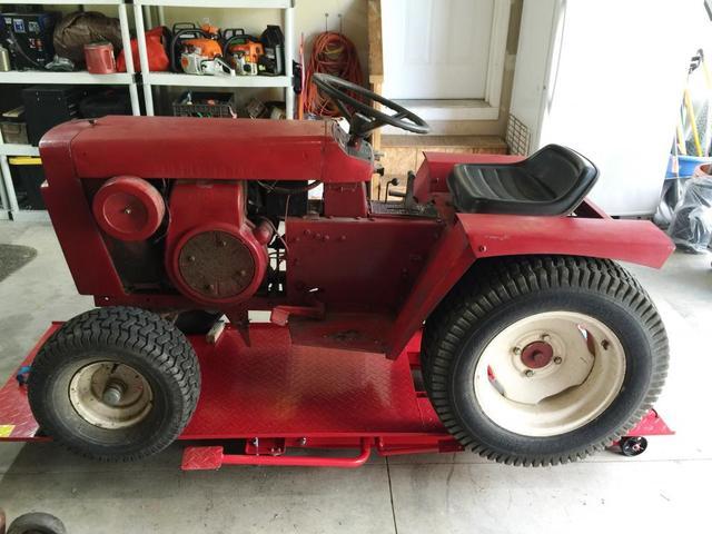 Wheel Horse Gt14 : Hf motorcycle lift gt wheel horse tractors