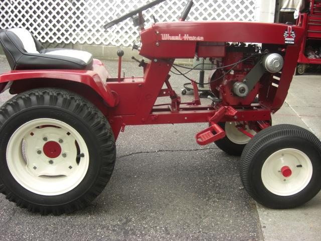 1966 753 Wheel Horse Tractor : To redsquare wheel horse forum