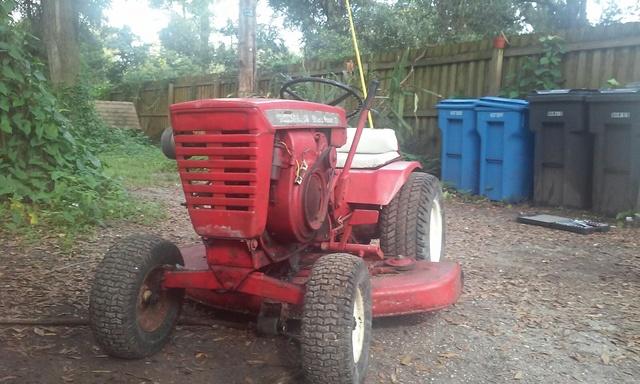 $200 craigslist find - 1967 model 1277 - Wheel Horse ...