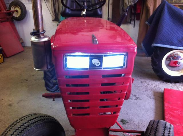 Led Lights For Cars >> LED Headlight - Wheel Horse Tractors - RedSquare Wheel Horse Forum
