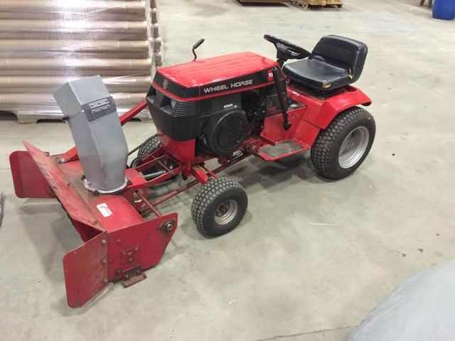 Wheel Horse Snow Blowers : Quot snow blower dozer blades and blowers redsquare