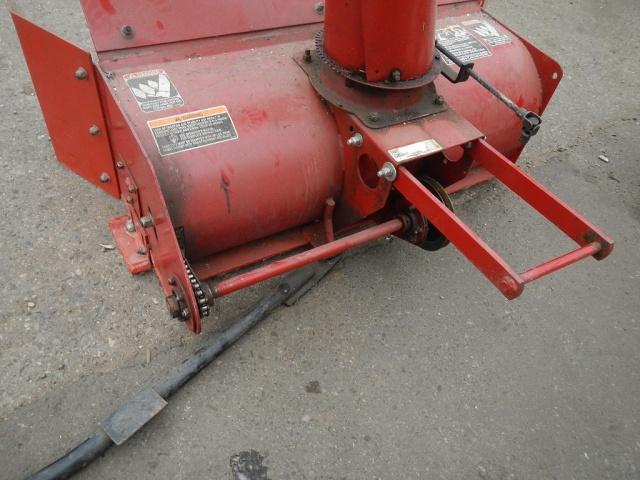 Wheel Horse Snow Blowers : Snowblower lift pin scrapped off implements and