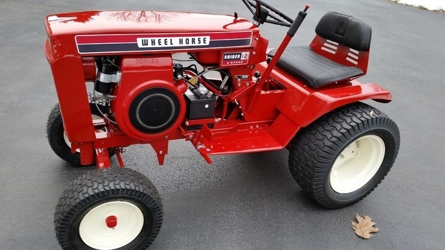 1972 wheel horse pictures to pin on pinterest