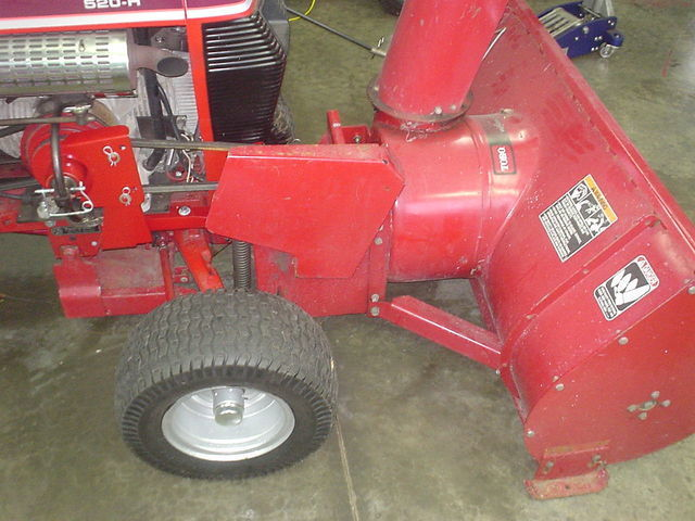Wheel Horse Snow Blowers : Stage snowblower wheel horse tractors redsquare
