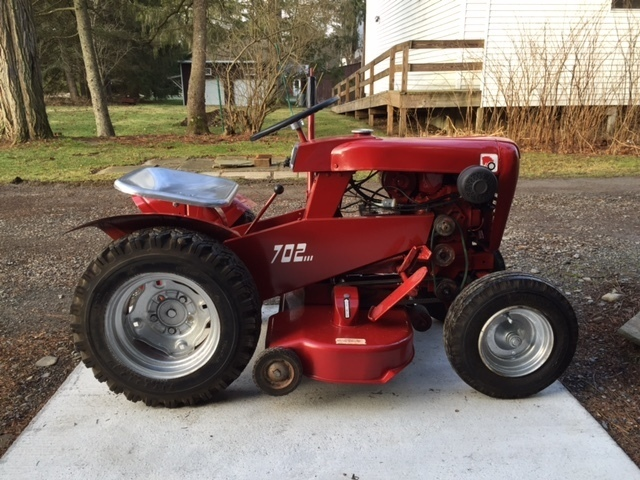 1966 753 Wheel Horse Tractor : What would a be worth wheel horse tractors