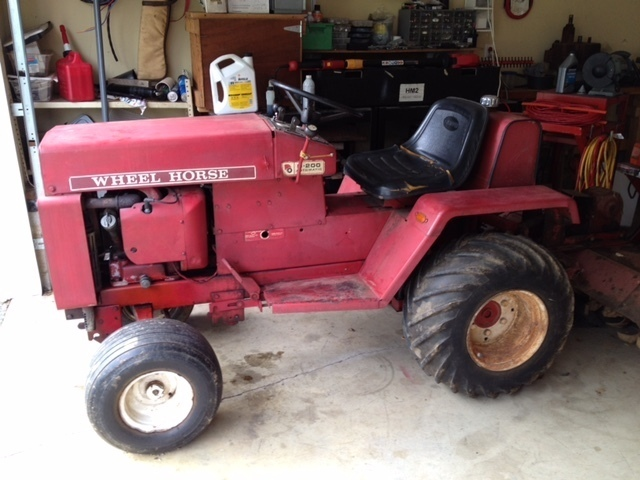 Wheel Horse Garden Tractor With Pto And 3 Point : D for sale wheel horse sold archive redsquare