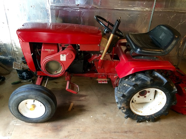 1966 753 Wheel Horse Tractor : Wheel horse sold archive