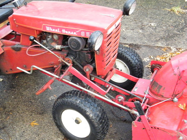 Wheel Horse Snow Blowers : Snowblower help implements and attachments redsquare