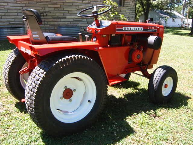 Wheel Horse Gt14 : Gt update wheel horse tractors redsquare