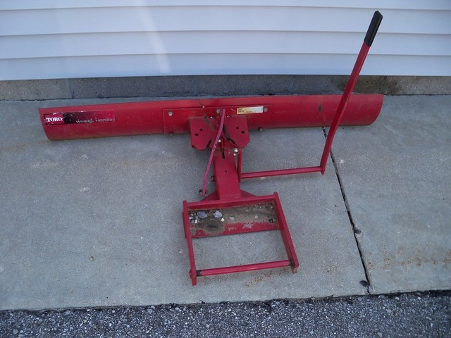 Wheel Horse Tractor Attachments : Wheel horse c tractor with attachments