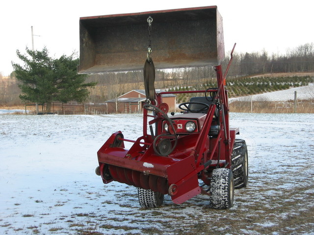 Wheel Horse Snow Blowers : Snow thrower wheels implements and attachments