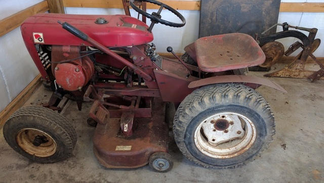 Wheel Horse 604 : Wheel horse sold archive redsquare forum