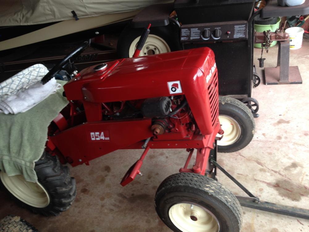 Wheel Horse Tractor Attachments : Neat wheel horse tractor lift implements and attachments