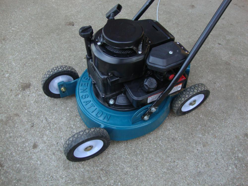 Sensation Push Mower Other Brands Redsquare Wheel