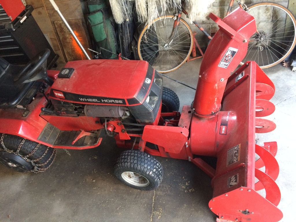 Wheel Horse Snow Blowers : Quot snowthrower two stage model wheel horse for