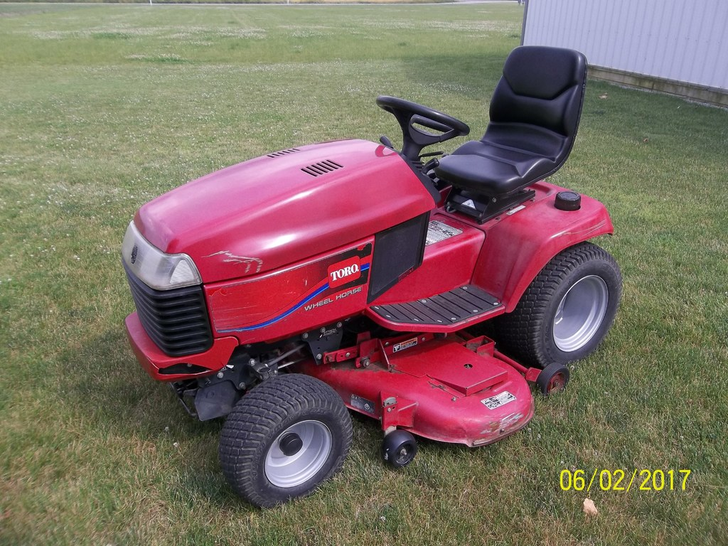 Toro Tractor Seat : Toro wheel horse xi with quot deck for