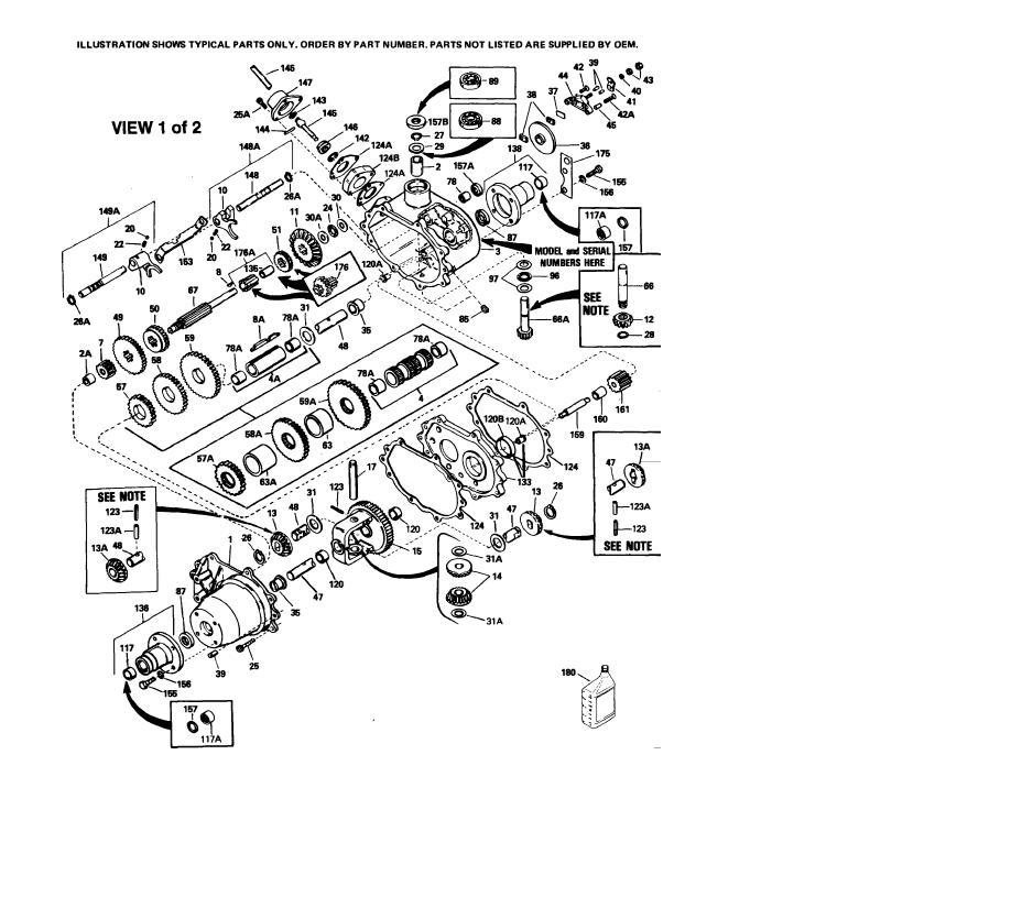 Transmission Gear Peerless 662 IPL SM pdf - Manual
