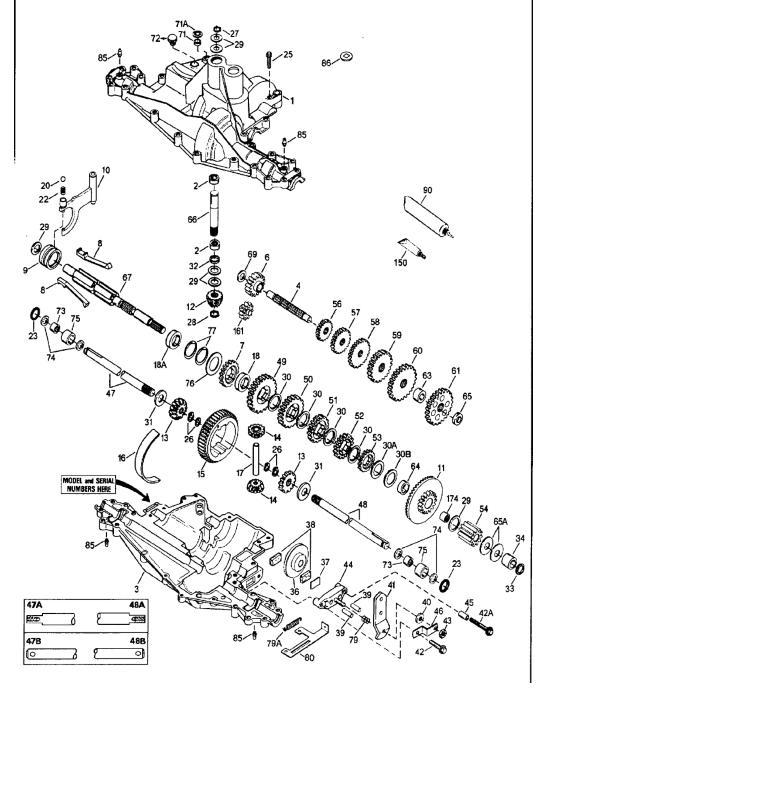 Transmission Gear Peerless 915-019 IPL SM pdf - Manual
