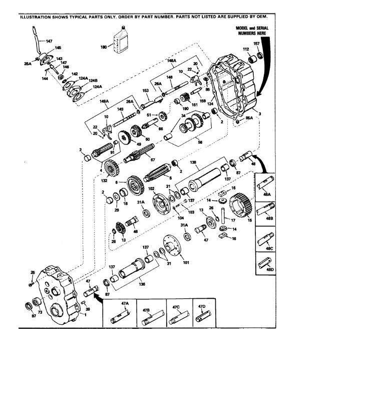 Peerless 700 Transmission Parts Diagram - General Wiring Diagram