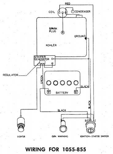 Tractor 1965 855  U0026 1055 D U0026a Om Ipl Wiring Sn Pdf