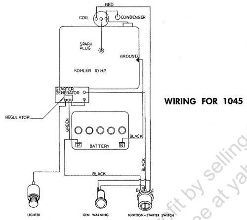 tractor 1965 1045 d u0026a om ipl wiring pdf
