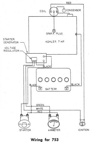 tractor 1963 633  653  u0026 753 d u0026a ipl wiring sn pdf