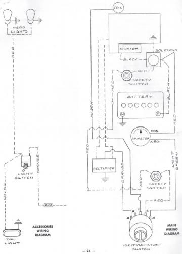 Tractor 1974 B-100 Auto D U0026a Om Wiring Sn Pdf