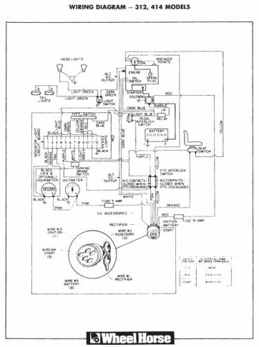 Motorcycle Wiring Diagram Pdf from www.wheelhorseforum.com