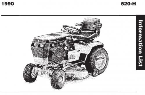 Tractor 1990 520-h Wiring Detailed Pdf