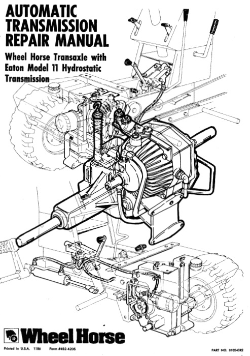 Sundstrand hydro transmission owners Manual audio