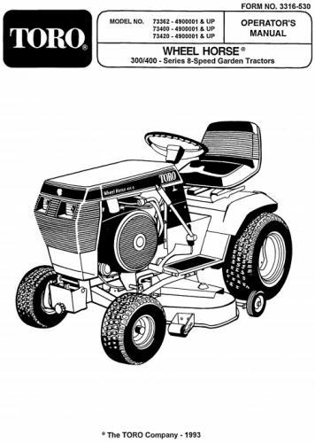 Tractor 1995 312-8 D U0026a Om Wiring Sn Pdf