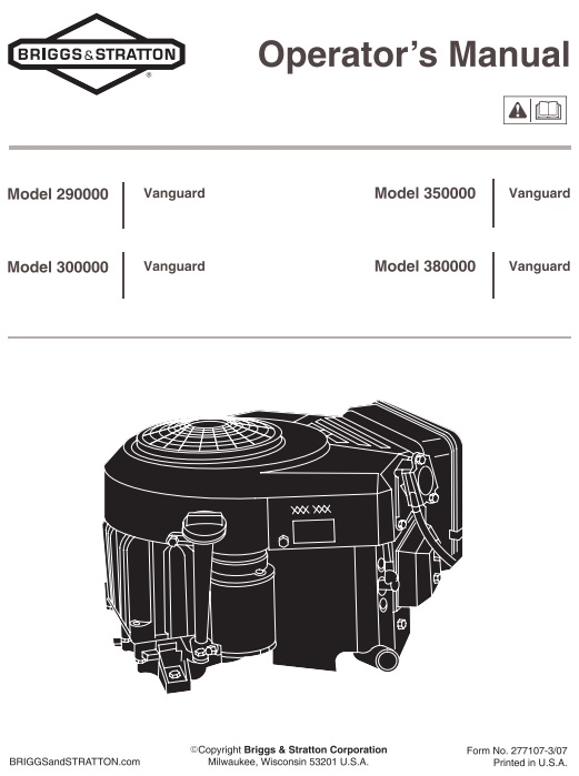Engine B S 16hp Vs Twin 303777 Om Ipl Sm Pdf Other Redsquare Wheel Horse Forum
