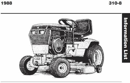 wheelhorse wiring diagram tractor 1988 310 8    wiring    pdf 1985 1990 redsquare  tractor 1988 310 8    wiring    pdf 1985 1990 redsquare