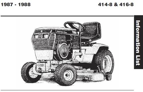 tractor 1988 414-8  u0026 416-8 wiring detailed pdf