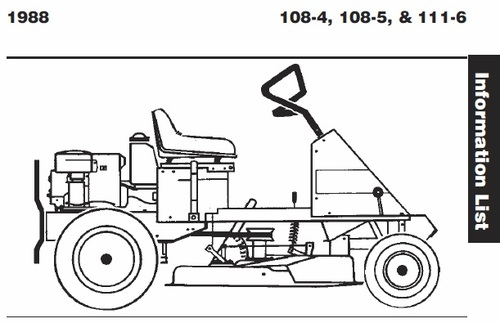 tractor 1988 111-6 rer wiring detailed pdf - 1985-1990