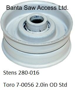 New Stens Flat Idler 280-081 for Toro 112426