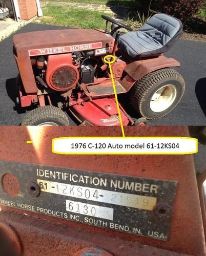 Tractor 1976 C-120 Auto D U0026a Sn Pdf - 1973-1977