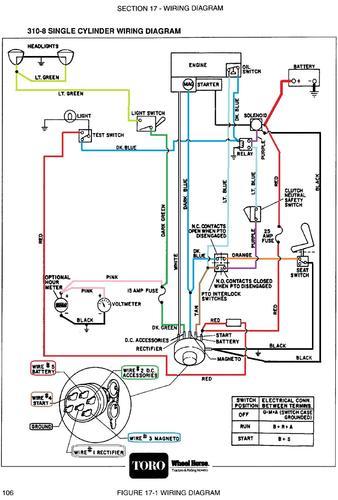 Tractor 1991 310-8  U0026 312-8 D U0026a Om Wiring Sn Pdf