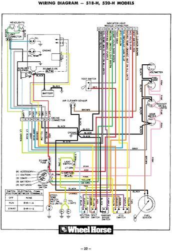 Tractor 1988 516-h  U0026 518-h D U0026a Om Wiring Sn Pdf