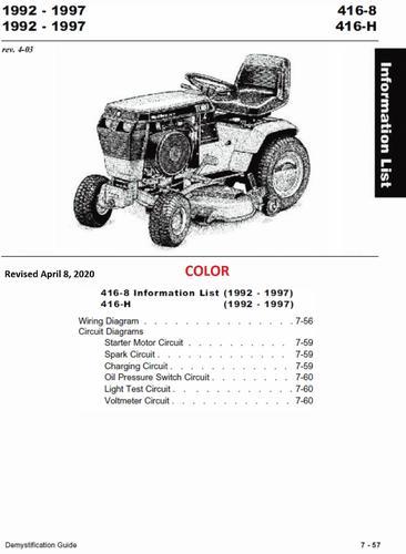 Wheel Horse Wiring Diagram on riding mower, 1 2 hp kohler, b80 4 speed, c1-01, voltage regulator,